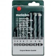 Набор сверл по бетону Metabo Classic, 8 ед. (627182000)