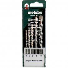 Набор сверл по бетону Metabo Pro, 5 ед. (627181000)