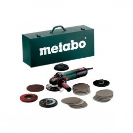 Угловая шлифмашина Metabo WEV 15-125 Quick Inoх Set (600572500)