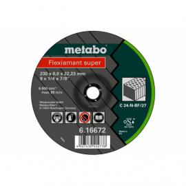 Обдирочный круг Metabo Fleхiamant Super, камень C 24-N, 230х6х22,23 мм (616672000)