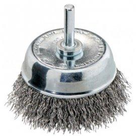Чашечная щетка Metabo 75х0,3 мм/6 мм, сталь, плетеная (630552000)