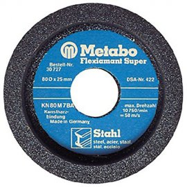 Чашечный шлифовальный круг Metabo 80х25 мм, сталь (629174800)