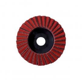 Комбинированный ламельный шлифовальный круг Metabo 125 мм, грубое зерно, УШФ (626415000)