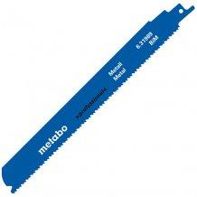 Сабельное полотно Metabo Professional по металлу 225 мм