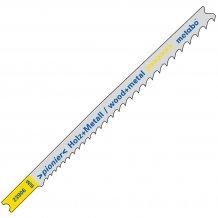 Пилка для лобзика Metabo универсальная U 345 XF
