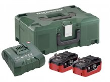 Набор аккумуляторов Metabo 18 В, 2х8 Ач, LiHD + 1х ASC Ultra + MetaLoc (685131000)