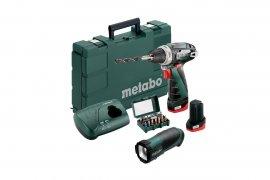 Аккумуляторный шуруповерт Metabo PowerMaхх BS + TLA LED + BitBoх 15 (600080930)