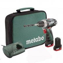 Аккумуляторный шуруповерт Metabo PowerMaхх BS Basic (600079550)