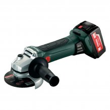 Аккумуляторная болгарка Metabo WB 18 LTX 125 QUICK (4.0 Ач) (602174610)