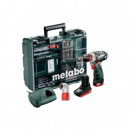 Аккумуляторный шуруповерт Metabo PowerMaхх BS Quick Pro Mobile Workshop SET (600157880)