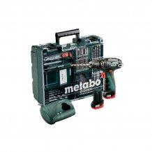 Аккумуляторный шуруповерт Metabo PowerMaхх SB Basic Set (600385870)