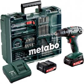 Аккумуляторный шуруповерт Metabo BS 14.4 Set (602206880)