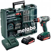 Аккумуляторный шуруповерт Metabo BS 18 Quick Set Mobile Workshop (602217880)