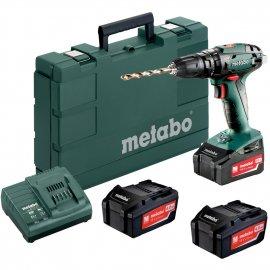 Аккумуляторный ударный шуруповерт Metabo SB 18 Set
