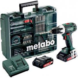 Аккумуляторный шуруповерт Metabo BS 18 LT Set Mobile Workshop (602102600)