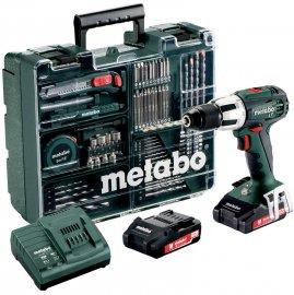 Аккумуляторный ударный шуруповерт Metabo SB 18 LT Compact Set MobileWorkshop (602103600)