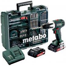 Аккумуляторный ударный шуруповерт Metabo SB 18 LT Compact Set MobileWorkshop